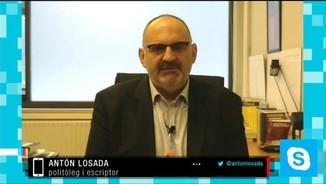 "Anton Losada: ""No es presenten per guanyar; es presenten per aconseguir un determinat resultat polític"""