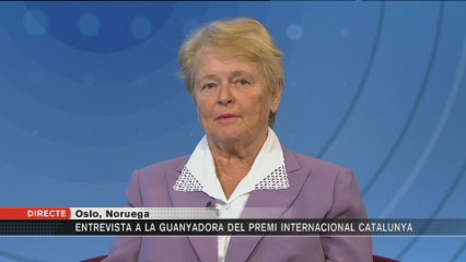 Entrevista amb Gro Harlem Brundtland