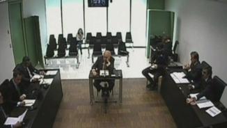Jordi Pujol declarant davant el jutge.