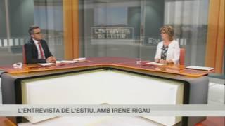 Entrevista a Irene Rigau, consellera d'Ensenyament