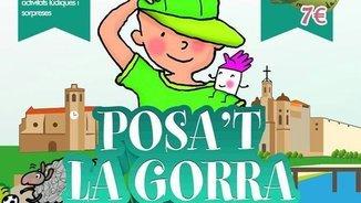 """Cartell del """"Posa't la gorra"""" de Balaguer"""