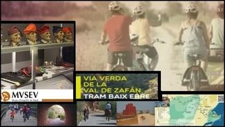 Un país per voltar. De Tortosa a l'Aragó, en bicicleta per la via verda de la Vall de Zafán