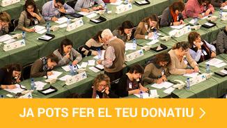 Ja pots fer el teu donatiu