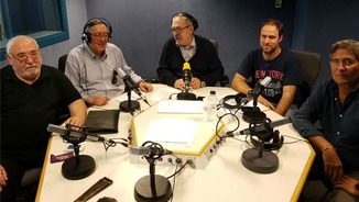 Josep M. Francino, Joan Manuel Surroca, Santi Carreras, Oriol Rodríguez i Eduard Boet