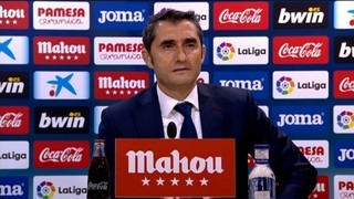 Valverde es posiciona davant de la possible sanció a Guardiola