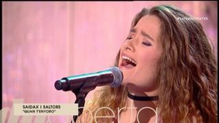 "Encisats amb la ""Janis Joplin"" de Piera"