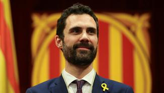 Roger Torrent, el nou president del Parlament de Catalunya