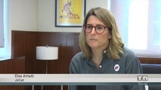Marta Pascal diu que cal un govern estable dins la legalitat vigent