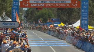 Caiguda massiva al Tour Down Under