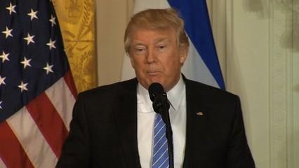 Trump diu que treballa en el trasllat de l'ambaixada nord-americana a Jerusalem