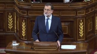 Rajoy al Congrés, 11 d'octubre