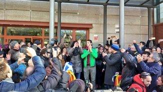Els dos regidors de la CUP de Reus queden en llibertat després de negar-se a declarar