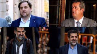 Junqueras, Forn, Cuixart i Sànchez tornen al Suprem (ACN/Reuters)