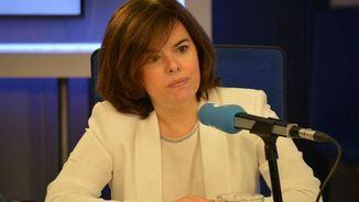 Soraya Sáenz de Santamaría a la Cadena COPE