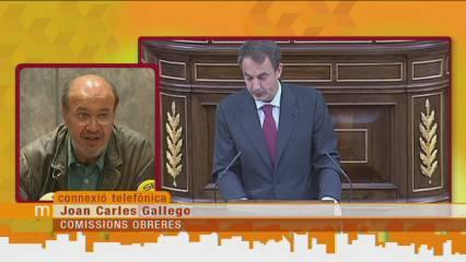 """""""Les mesures de Zapatero són un insult a la intel·ligència"""""""
