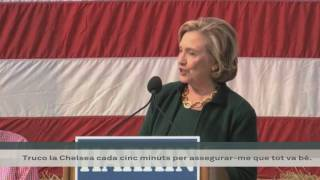 Hillary en campanya