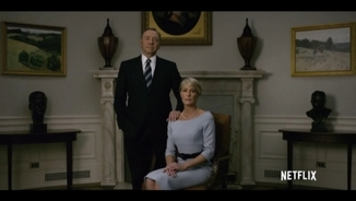 "El matrimoni Underwood, protagonistes de ""House of Cards"""