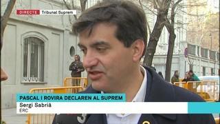 """Sergi Sabrià: """"Pot passar qualsevol cosa"""""""