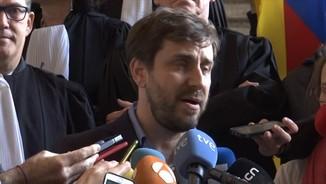 Comín, Puig i Serret reaccionen a la decisió de la fiscalia belga de no extradir-los