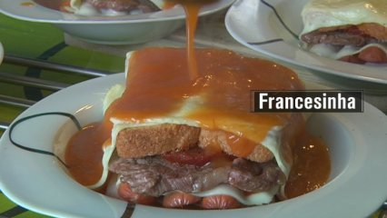 Francesinha à moda do Porto (Pedro, Portugal)