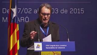 Declaracions d'Artur Mas sobre les estructures d'estat
