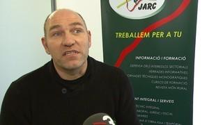 El president de JARC a Girona es pronuncia sobre el nou cas de grip aviària en una granja d'ànecs de Sant Gregori