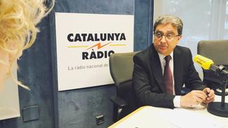 Mònica Terribas i el delegat Enric Millo