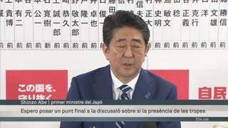 Abe guanya al Japó amb possibilitats de modificar la Constitució pacifista