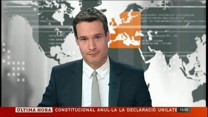 El TC anul·la la DUI aprovada pel Parlament de Catalunya