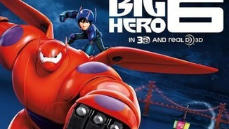 "Cartell de ""Big Hero 6""."