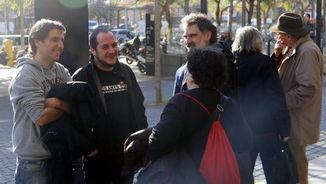 Propòsit d'esmena: Absolen l'ultra acusat d'amenaçar d'apallissar l'exdiputat David Fernàndez