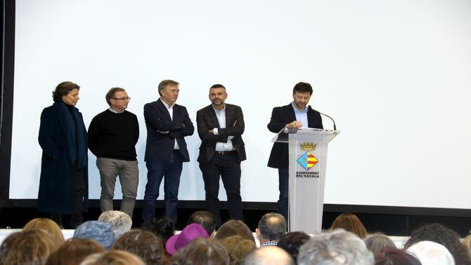 """Unes 200 persones assisteixen a la preestrena de """"La Víctor"""", un documental de TV3 sobre Caterina Albert"""