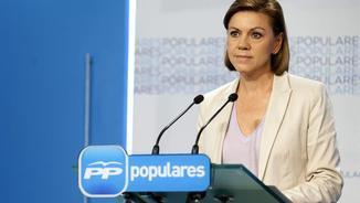 La ministra de Defensa, María Dolores de Cospedal, en una imatge d'arxiu (EFE)