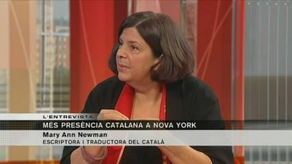 Entrevista del 3/24 - Mary Ann Newman, escriptora i traductora del català, directora de la Fundació Ferragut
