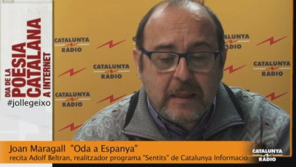 "Joan Maragall: ""Oda a Espanya"""
