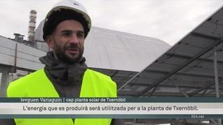 Txernòbil es vol reinventar amb l'energia renovable