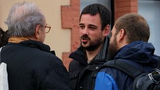 Lluc Salellas, membre secretariat nacional de la CUP