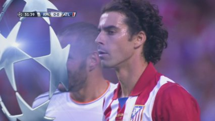 Bale perdona a la mitja hora de partit