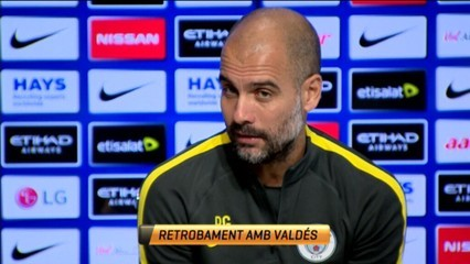 Guardiola desmenteix l'incident entre Messi i Arteta