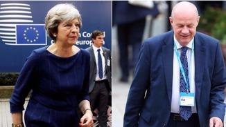Theresa May i Damian Green (Reuters)