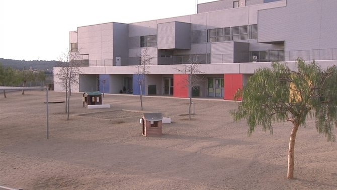L'escola Montoliu, a la Riera de Gaià