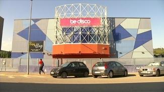 La discoteca Be Disco, a Molins de Rei, a l'exterior de la qual haurien passat els fets