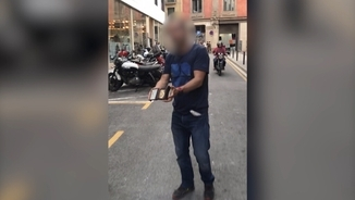 Foto policia que va agredir Jordi Borràs