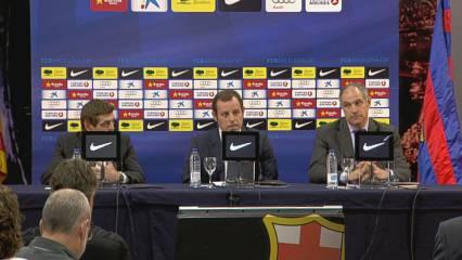 Sandro Rosell parla de Tito Vilanova