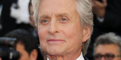 L'actor Michael Douglas.