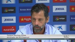 Quique Sánchez Flores serà atrevit al derbi del Camp Nou
