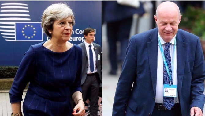 Theresa May i Damian Green (Reuters)