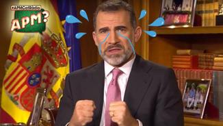 Felip VI, deprimidíssim pel cas català