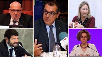 Llarena ha citat a declarar quatre exconsellers -Baiget, Jané, Munté i Ruiz- i l'exdirector dels Mossos, Albert Batlle