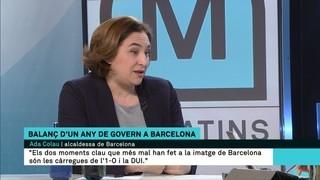 """Ada Colau: """"Si ens divideixen com a país i com a poble, aleshores sí que ens guanyen"""""""
